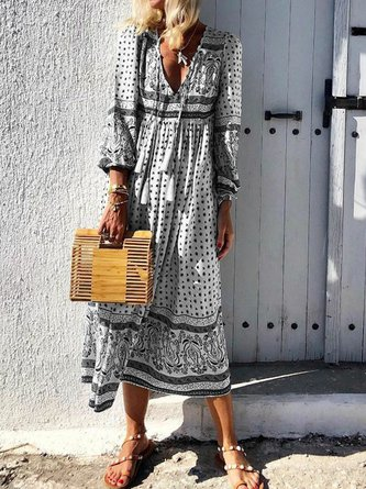 A-Line Holiday Maxi Dresses