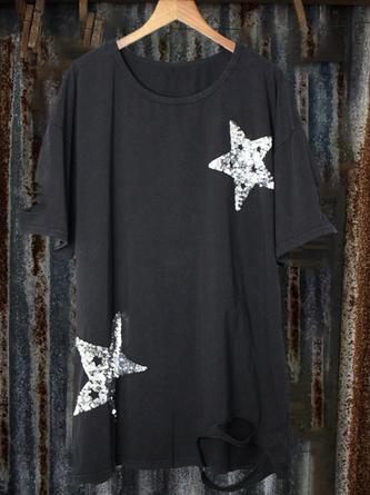 zolucky Casual Short Sleeve Shirts & Tops