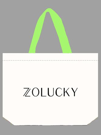 Zolucky Shopping Canvas Bag